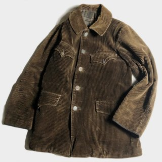 30's FRENCH CORDUROY HUNTING JKT