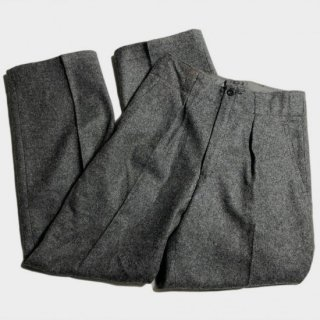 50's DANISH ARMY WOOL TROUSERS(102)