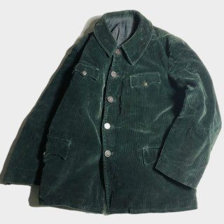 40's FRENCH CORDUROY HUNTING JKT