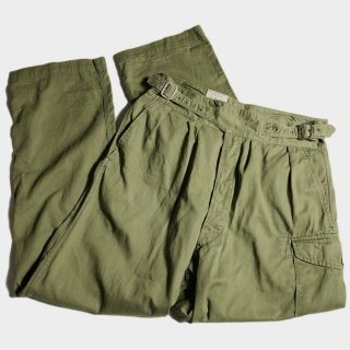 60's BRITISH ARMY GURKHA PANTS(12)