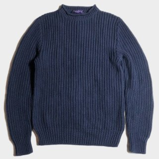 ROLL NECK KNIT(PURPLE.L-M)