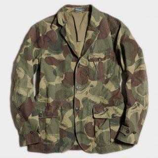 BRUSHED CAMO LAPELED JKT(36R)
