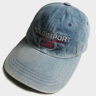 VINTAGE DENIM LOGO CAP(D.-USA)