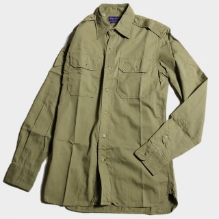 ARMY DRESS SHIRTS(PURPLE.L-S)