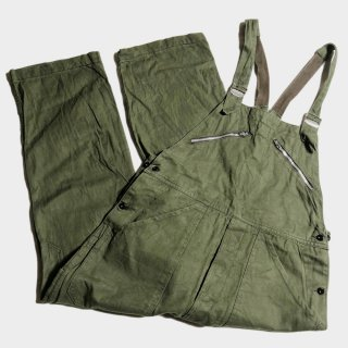 60's COTTON TWILL OVERALL