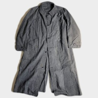20's F.BK CHAMBRAY LINEN COAT(NM)