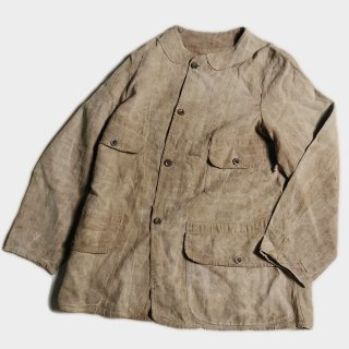 1900's FRENCH LINEN HUNTING JKT