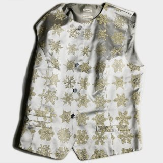 SNOW CRYSTAL SILK VEST(FRANCE-42)
