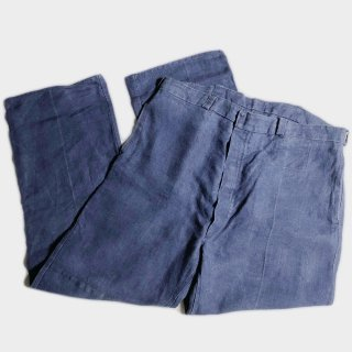 30's BELGIAN COLE MINER TROUSERS