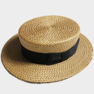 30's BOATER HAT(NM-58.5CM)