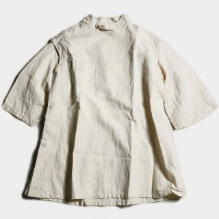 40's F.H.MILITARY LINEN MEDICAL TOPS