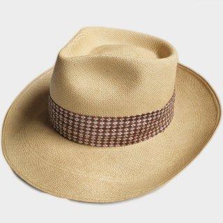 50's PANAMA HAT (NOS-57.5CM)