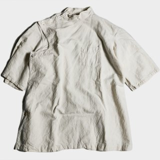 50's F.H.MILITARY LINEN MEDICAL TOPS