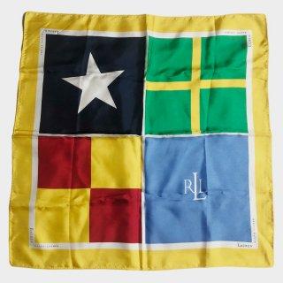 FLAGS MINI SILK SCARF