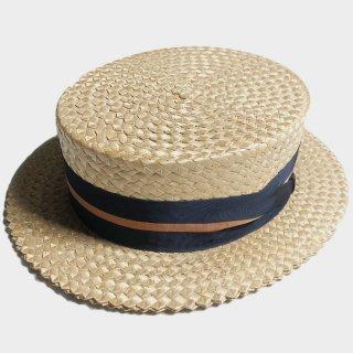 50's BOATER HAT(NOS-59.5CM)