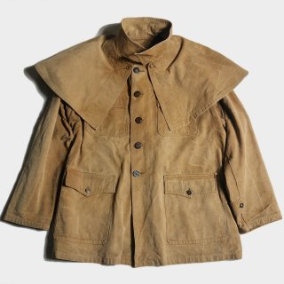 40's FRENCH C. HUNTING CAPE JKT