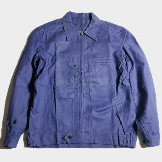 50's F.BLUE TWILL CYCLIST JKT(NOS)