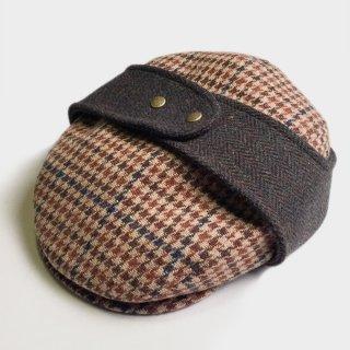 TWEED EAR FLAP HUNTING CAP