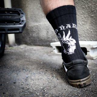 【BAD HANDS】Logo Socks(Black)