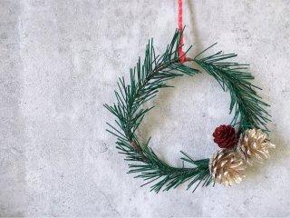 水引クリスマス飾り(グリーン)
