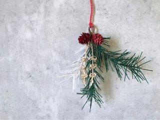 水引クリスマス飾り(松葉)