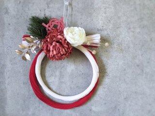 水引お正月飾り(赤×白)