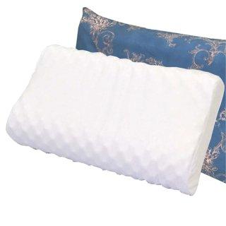 ラテシア ロイヤル 100% 天然ラテックス枕 高反発 いびき型 【枕カバー付き】