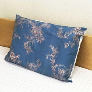 ラテシア ロイヤル 枕カバー G【肩こり型枕用】 45×63cm 封筒式 ブルー