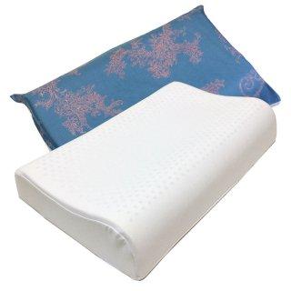 ラテシア ロイヤル 100% 天然ラテックス枕 高反発 首らく枕 contour【枕カバー付き】  高さ11-9cm
