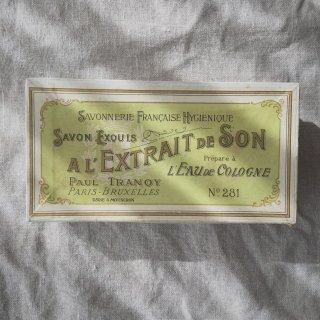 フランスアンティーク サボンボックス