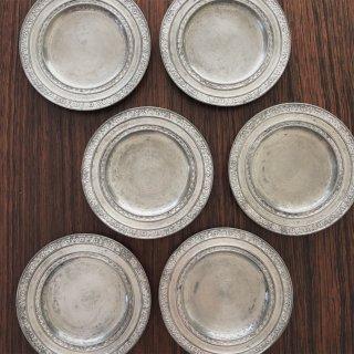 フランスアンティーク 繊細な細工のエタン皿