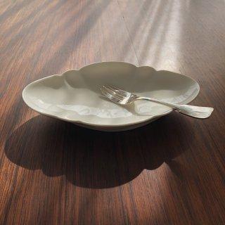 フランスアンティーク 白釉皿2