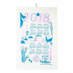 2018年カレンダータオル