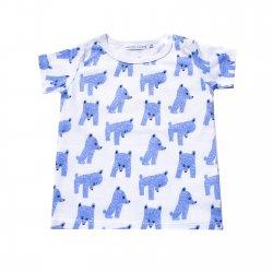 Yoga Bear 半袖Tシャツ