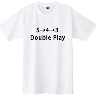野球Tシャツ 543ダブルプレーTシャツ 全5色