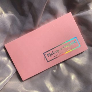 【Pink Palette】アイシャドウ18色パレット-Produced by Makeup by Masami-