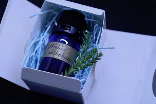 【数量限定15本のみ】【3年熟成】熊野の香り®「Amber shibahara」エッセンシャルオイル
