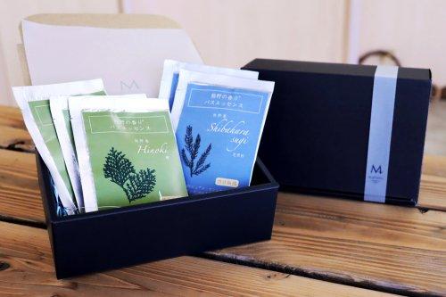 熊野の香り バスエッセンス5袋BOXセット