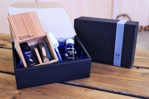 熊野の香り 熊野杉エッセンシャルオイル&フローラルウォーターBOXセット
