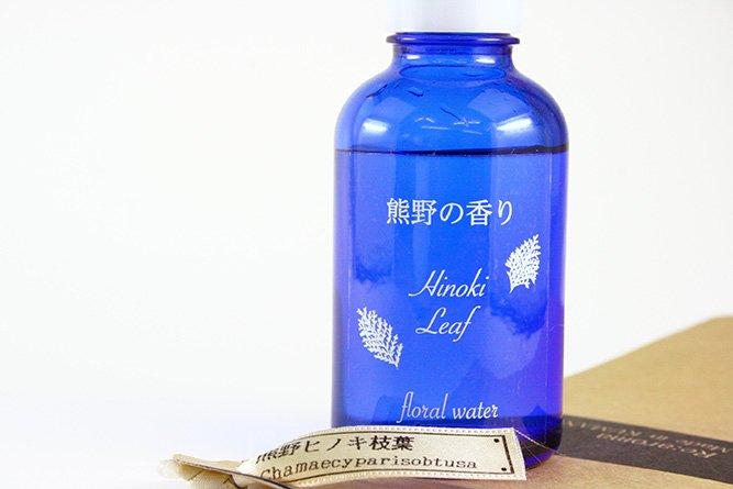 熊野の香り®「熊野ヒノキ枝葉」フローラルウォーター(芳香蒸留水)