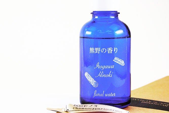熊野の香り®「熊野色川ヒノキ」フローラルウォーター(芳香蒸留水)