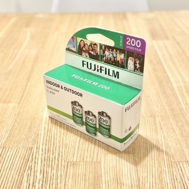 FUJI 200 3P 36枚撮り3本パック 35mmFilm