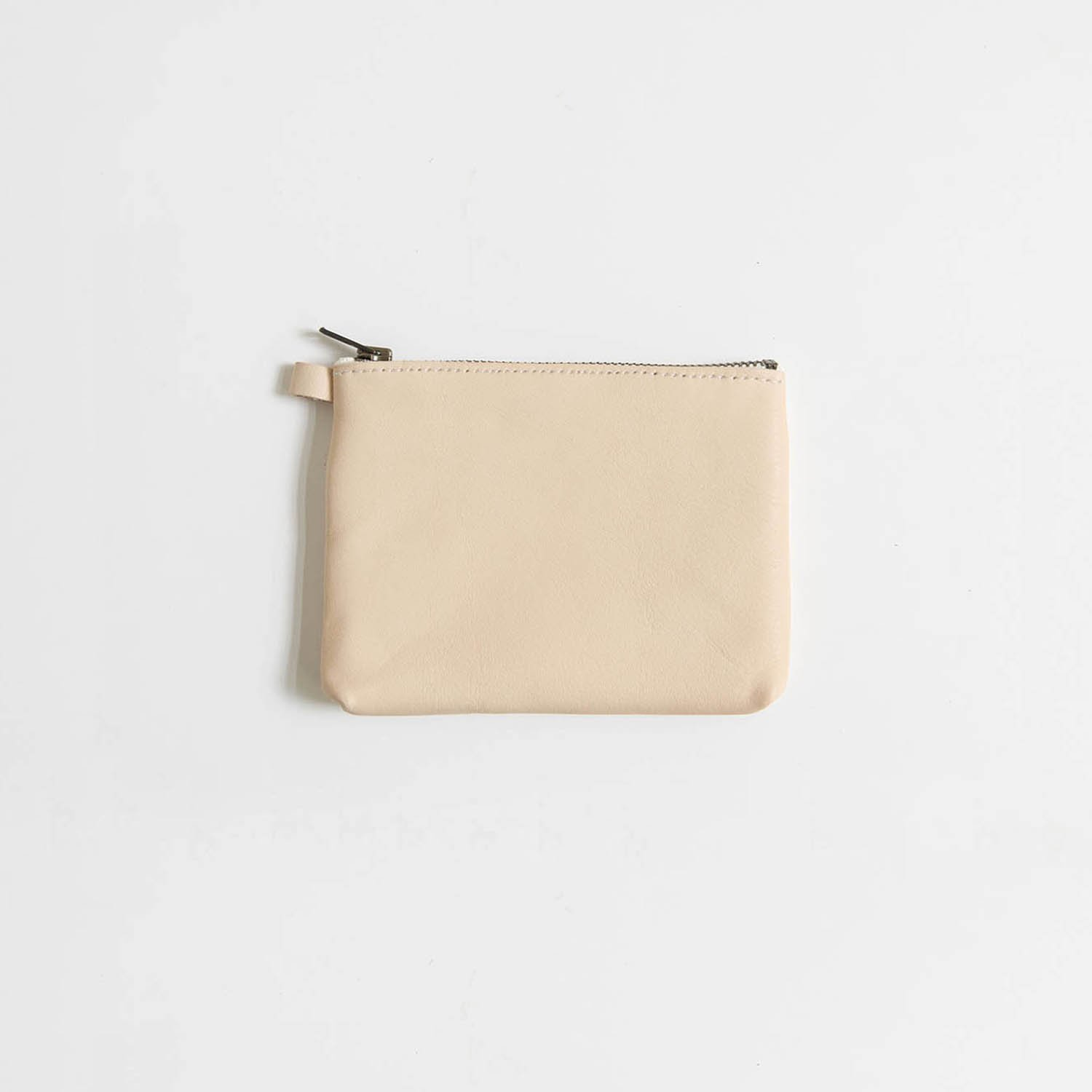 Leather pouch S Natural