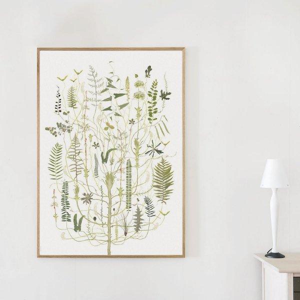 Poster Green Flora 70×100cm