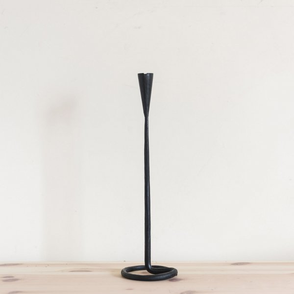 Iron candle stand 32cm