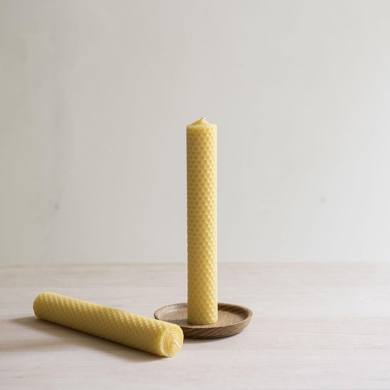 蜜蝋キャンドル  honeycomb φ30×h200mm
