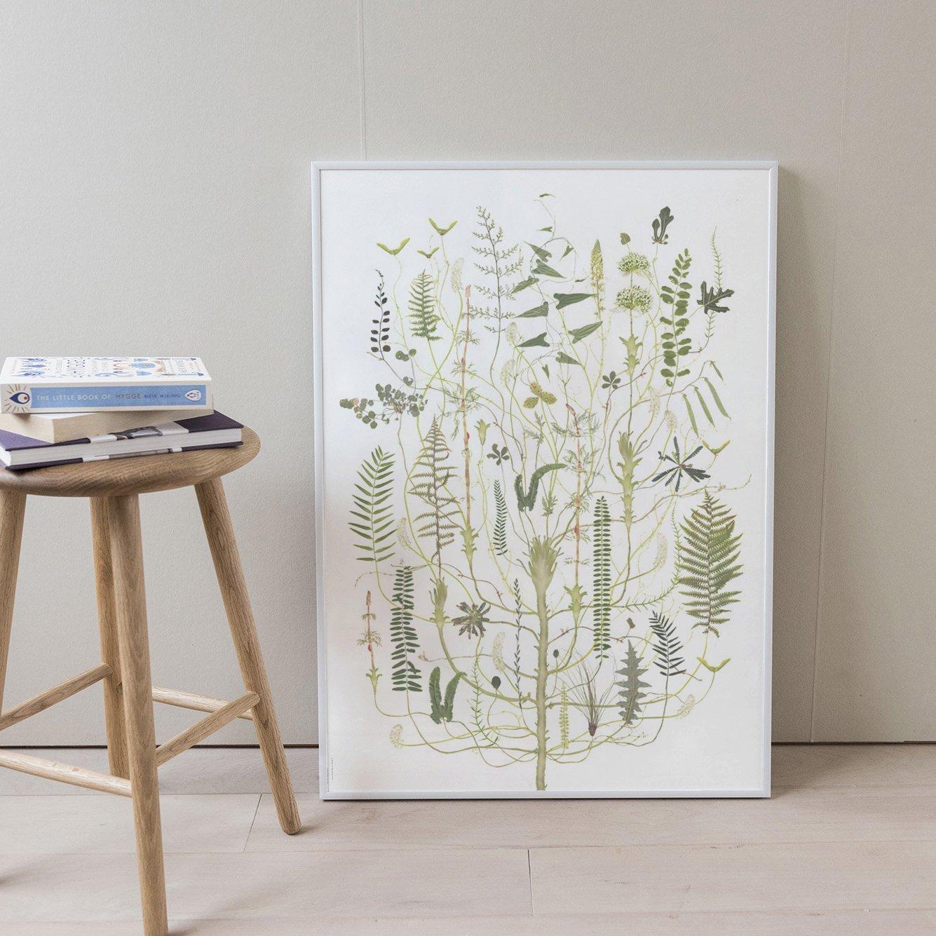 Poster Green Flora 50×70cm