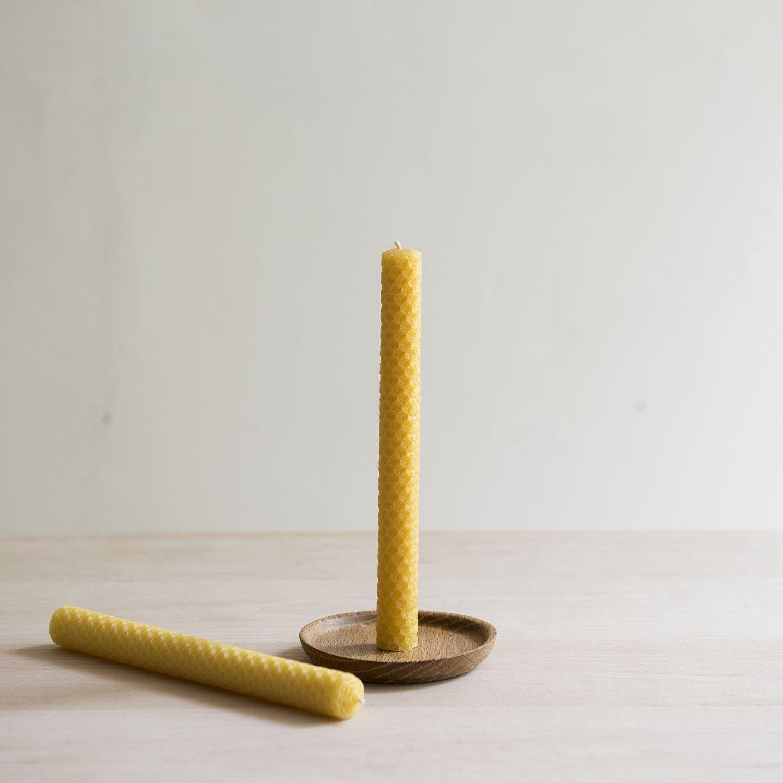 蜜蝋キャンドル  honeycomb φ15×h200mm