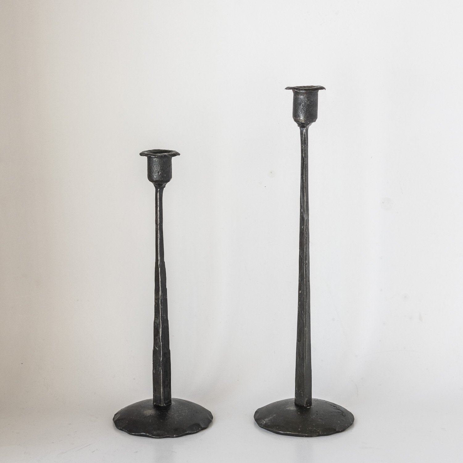 Iron candle holder 38cm