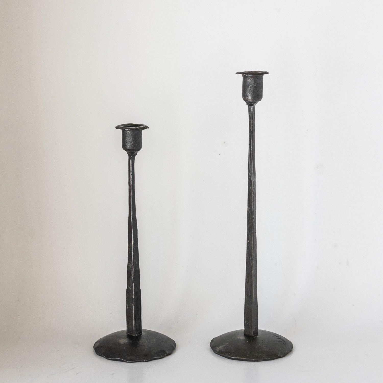 Iron candle holder 38cm